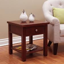 cherry end tables. DonnieAnn Oakdale Cherry End Table (Cherry Finish), Brown Tables L