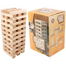 giant tower garden game outdoor wooden blocks game