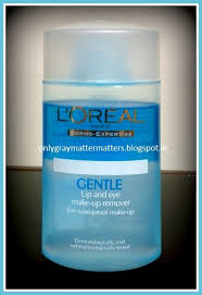 l oreal paris dermo expertise gentle lip and eye makeup remover review