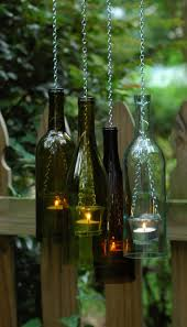 ... Bottle Chain Hanging Wine Bottle Lantern Glass By Lahadesigns Outdoor  Lighting Get Togethers Bo Large Size ...