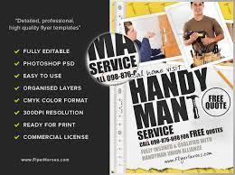 free handyman flyer template handyman flyer template flyerheroes