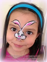 incredible bunny face paint to book a painter or learn more about our services