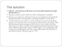 problem solution servitude liberty rousseau essay question how  7 the