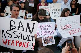 anti gun control sign. Modren Gun Protesters Hold Signs At A Rally For Gun Control The Broward County  Federal Courthouse In With Anti Gun Control Sign E