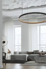 Want this huge circle pendant LED direct indirect light pendant