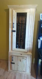 Wooden Shotgun Cabinets Uk Wood Gun Cabinet Door Locks Cheap With ...