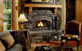 the first steps in building an all natural stone fireplace