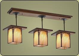 lighting fixture. craftsman lighting fixture style light