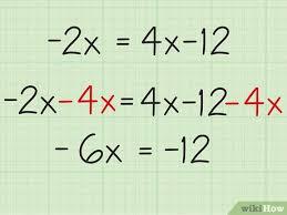 3 ways to solve two step algebraic