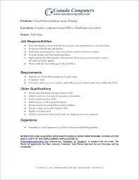 Visual Merchandiser Job Description Resume Best Of Merchandiser Job Description Resume Merchandiser Job Description Fa