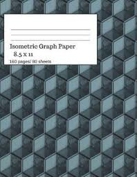 Buy Isometric Graph Paper By Simple Geometric Books With
