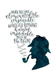 Sherlock Holmes Quotes Mesmerizing Sherlock Holmes Quote Posters By Alwaysbookish Redbubble