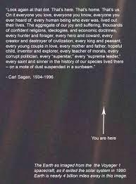Pale Blue Dot Quote