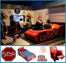 Childrens Car Themed Bedroom Disney Cars Room Ideas Decor Themes