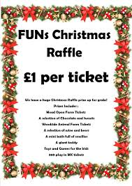 Raffle Prize Ideas For Kids Funs Christmas Raffle Prize Draw Families United Network