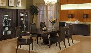 confirmed cool black leather dining room chair