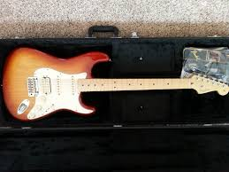fender american standard stratocaster hss electric guitar fender american standard stratocaster hss electric guitar maple fretboard musician s friend