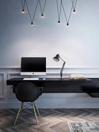 modern home office design displaying. Compact Apartment Showcases Neo-classical Meets Modern Home Office Design Displaying O
