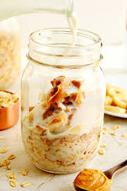 peanut er overnight oats easy and