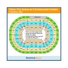 Value City Arena Seating Chart Value City Arena Columbus Event Venue Information Get