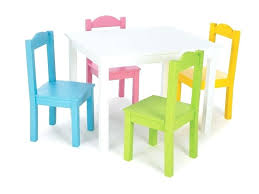 table and 4 chair childrens wooden unique