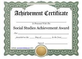 Certificate Of Achievement Templates Free Simple 48 Free Certificate Templates