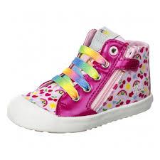 <b>Кеды GEOX</b> B72D5A0ANAJC8206 для <b>девочки</b>, цвет розовый, рус ...