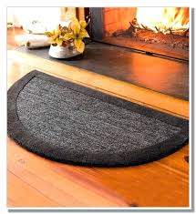 hearth mat wood