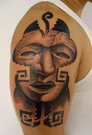 Aztec Tattoo Patterns Enchanting Aztec Tattoo Patterns Aztec Tattoos