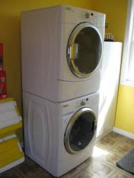 Gas Washers And Dryers Furniture Laundry Room Decor With White Stackable Washer And