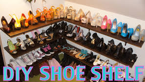 shoe racks for closets plans