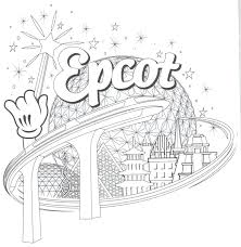 Disney World Ride Coloring Pages