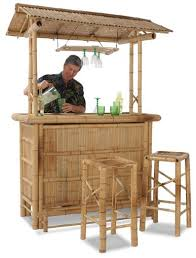 if you re going to set up an outdoor mini bar in the backyard you might as well make it feel like you re at a beach in some polynesian paradise