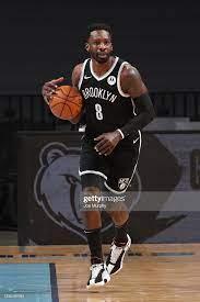 Jeff Green of the Brooklyn Nets handles ...