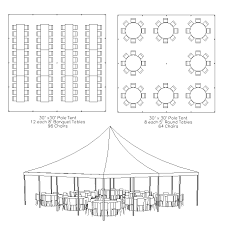 Round Table Seating Capacity Climbing Pleasant Traditional Frame Tent Seating Rental Pictures