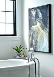 beckham belle diy frame for wrapped canvas art