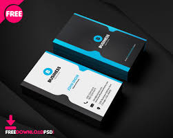 Online Busines Card Free Corporate Business Card Template Freedownloadpsd Com