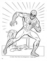 spiderman coloring book pdf spider mans coloring book cartoon bl on coloring pages in free