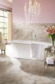 chandeliers over bathtubs innovative bathroom crystal chandelier tub