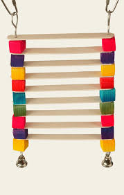 ladder made from popsicle sticks full view of popsicle ladder parrot parakeet toy