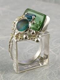 gregory pyra piro handmade one of a kind jewellery with opal