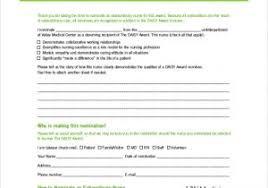 Nomination Certificate Template Silver Award Certificate Templates