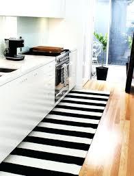 blue and white striped kitchen rug me coastal stripe black