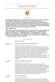Accountant Resumes Samples Senior Accountant Resume Samples Fast Lunchrock Co Simple Resume