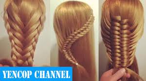 5 Peinados Faciles Y Rapidos Y Bonitos Con Trenzas P2 Peinado