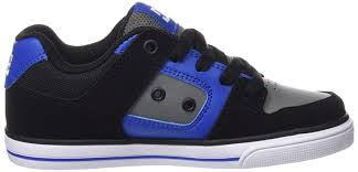 dc shoes high tops blue and black. dc pure boys\u0027 low-top sneakers shoes trainers,on sale high tops blue and black