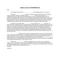 Sample Letter Of Recommendation For High School Student From Teacher Letter Of Recommendation For High School Student