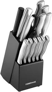 Farberware Stamped 15-Piece High-Carbon Stainless ... - Amazon.com