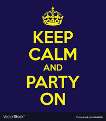 How To Make A Keep Calm Poster Keep Calm And Party On Poster Quote
