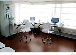 office desk for two people. L Shaped Desk For Two People Office O